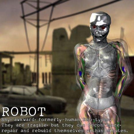 Race Image - Robot