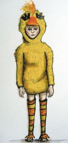 Rosalind as normal duck