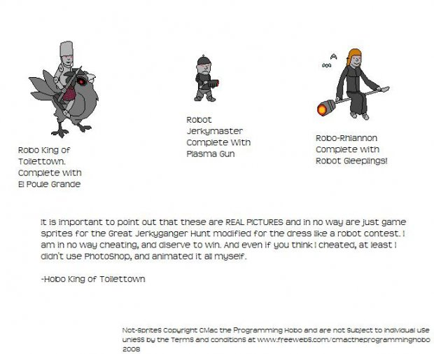 Robot Contest/The Great Jerkyganger Hunt