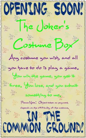 The Joker's Costume Box!