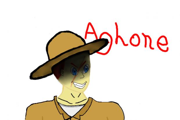 Aghone.