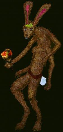 Mutant Rosalind as a LagoMorph