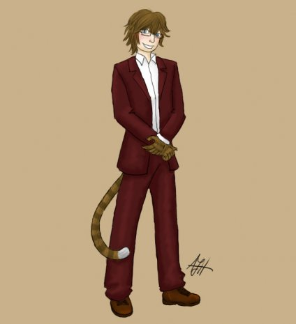 Mattcat in a Suit
